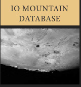 Io Mountain Database