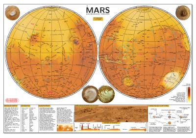 printable map of planet mars - photo #5