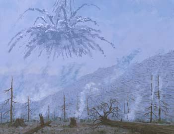 Sound of the Tunguska meteor